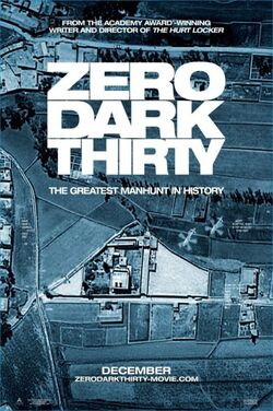 Zero Dark Thirty-poster