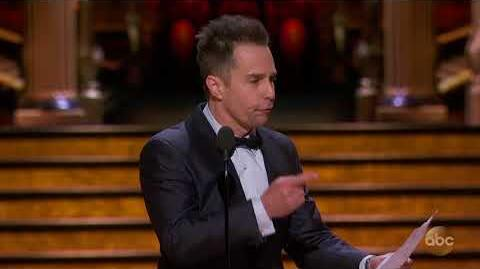 Sam Rockwell's Acceptance Speech for Best Actor in a Supporting Role 2018 Oscars