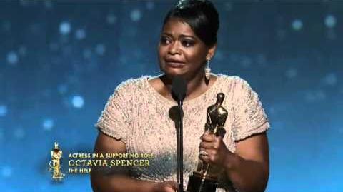 Octavia Spencer winning Best Supporting Actress