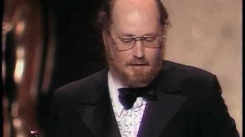 "John Williams winning Best Original Score for ""Jaws"""