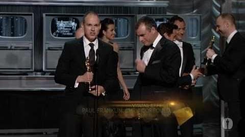 """""""Inception"""" winning the Oscar® for Visual Effects"""