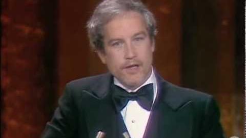 Richard Dreyfuss Wins Best Actor 1978 Oscars