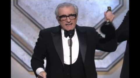 """Martin Scorsese winning an Oscar® for """"The Departed"""""""