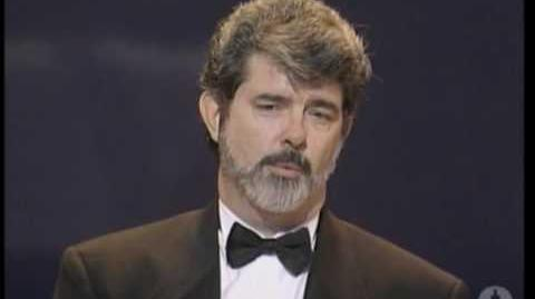 George Lucas receiving the Irving G