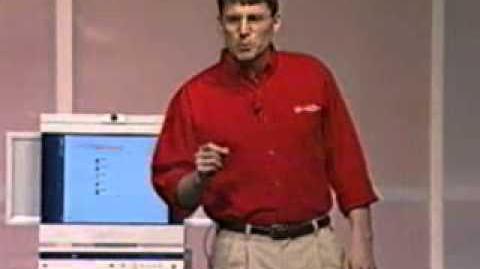 Chad Magendanz demos Taos at WinHEC 2000