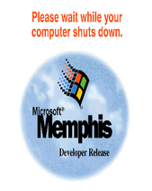 Memphis Developer Release Shutdown Screen
