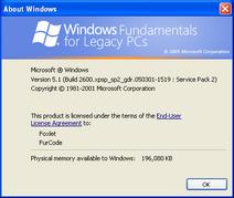 Windows-FLP-2600.2907.xpsp sp2 gdr.050301-1519-About
