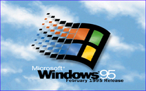 Windows 95 - February 1995 Release Boot Screen
