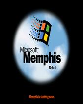 Memphis Beta 1 Shutdown Screen