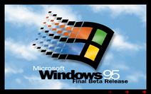 Windows 95 - Final Beta Release Boot Screen (Build 337)
