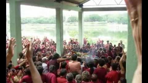 Osho Disciple Swami Anand Murti Death Celebration.wmv