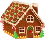 Gingerbread house day8