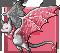 Gemeater bat rhodonite adult