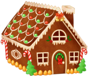 Gingerbread house day10