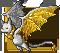 Gemeater bat citrine adult