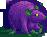 Rat purple toxic female