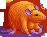Rat orange toxic female