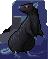 Rat black velvet male