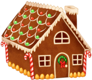 Gingerbread house day5