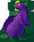 Rat purple toxic male