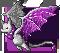 Gemeater bat amethyst adult