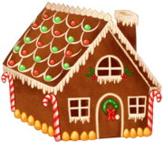 Gingerbread house day7