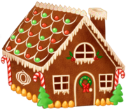 Gingerbread house day9