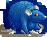 Rat blue toxic female
