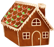 Gingerbread house day2