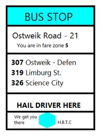 Treien bus stop