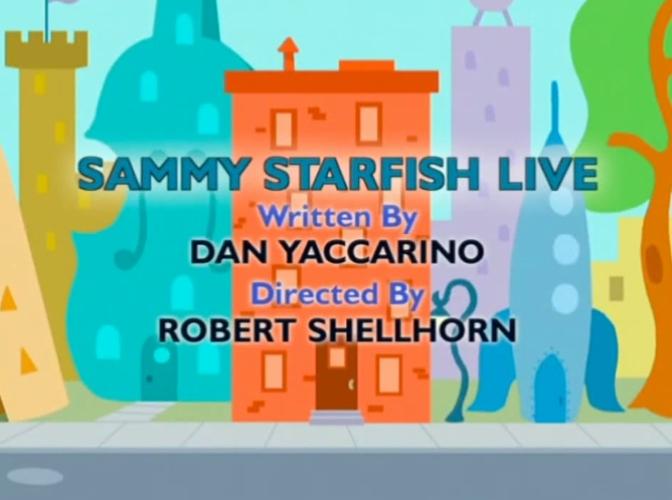 Sammy Starfish Live | Oswald Wiki | FANDOM powered by Wikia