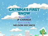 Catrina's First Snow