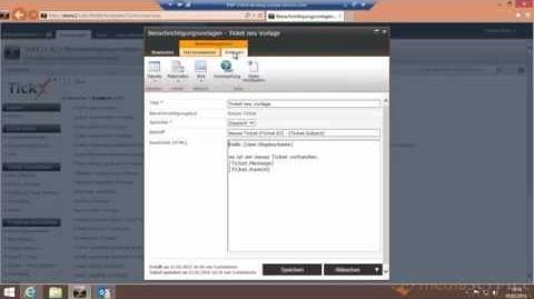 TickX für Sharepoint - V1.4 (Vorlagen für Benachrichtigungen anpassen)