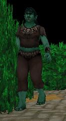 Female Orc monster