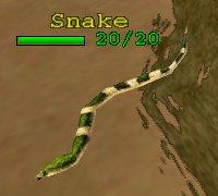 Creature GreenSnake