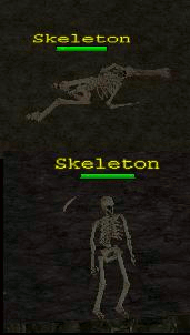 Monster skeleton