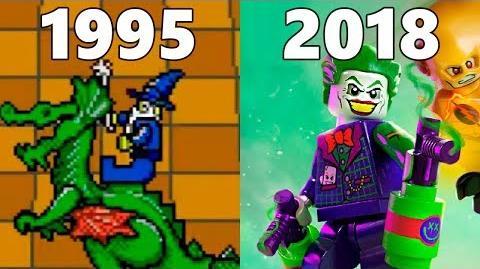 Evolution of Lego Games 1995-2018