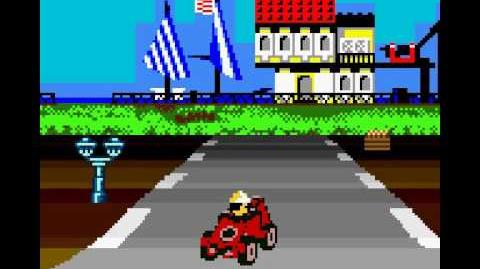 Lego Racers (GBC) - Gameplay (2000)