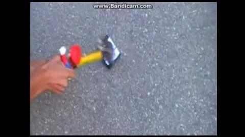 SmurfStorm Destroys A Handy Manny DVD