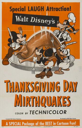 Walt Disney S Thanksgiving Day Mirthquake Other Holiday Specials Wiki Fandom