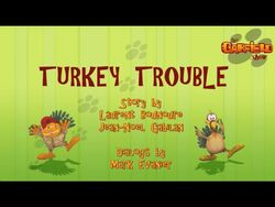 Turkey trouble title