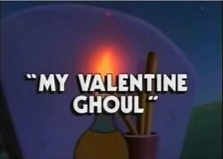 Darkwing Duck My Valentine Ghoul Title Card