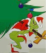 Santa-grinch