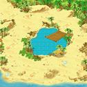 Minimap Fiesta Zone 2 - Sand Alert