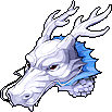 Hat White Dragon Helmet