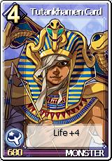 Card Tutankhamen Card