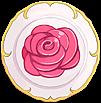 Shield Royal Rose Dish Shield