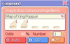 Compounding Map of King Poppuri