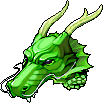 Hat Green Dragon Helmet