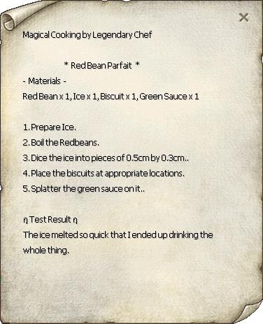 Red Bean Parfait Recipe